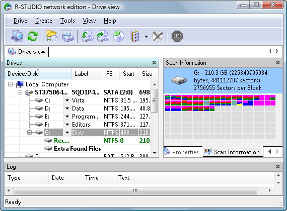 Data recovery software renowned for its ability to recover mission-critical data quick Screen Shot